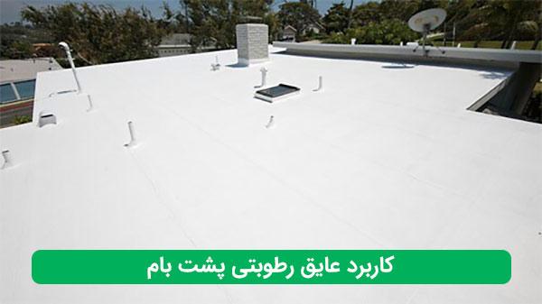 کاربرد عایق رطوبتی پشت بام