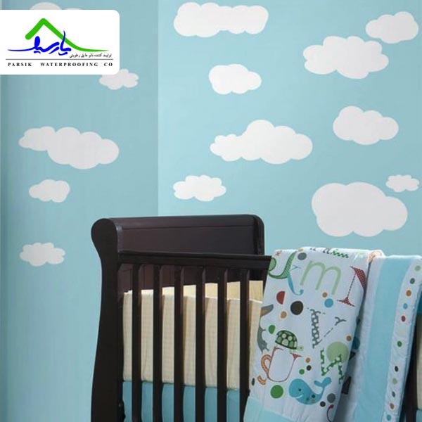 10 نمونه طرح کاغذ دیواری برای اتاق کودک و نوزاد